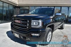 2016_GMC_Sierra 1500_SLT / All Terrain / 4X4 / Crew Cab / Auto Start / Power & Heated Leather Seats / Bose Speakers / Sunroof / Navigation / Bluetooth / Back Up Camera / Tonneau Cover / Bed Liner / Tow Pkg_ Anchorage AK