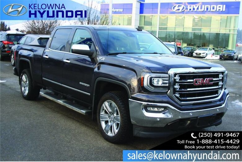 2016 GMC Sierra 1500 SLT Seats, Front 40/20/40 Leather-appointed Penticton BC