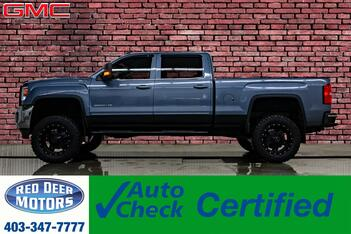 2016_GMC_Sierra 2500HD_4x4 Crew Cab SLE Lift Leather BCam_ Red Deer AB