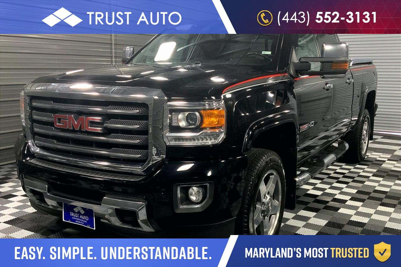 2016 GMC Sierra 2500HD SLT 4WD All-Terrain Ultimate GFX Pickup Truck Sykesville MD