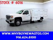 2016_GMC_Sierra 3500HD_~ 12ft Stake Bed ~ Only 7K Miles!_ Rocklin CA