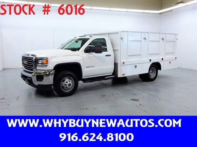 2016 GMC Sierra 3500HD ~ 12ft Stake Bed ~ Only 7K Miles! Rocklin CA