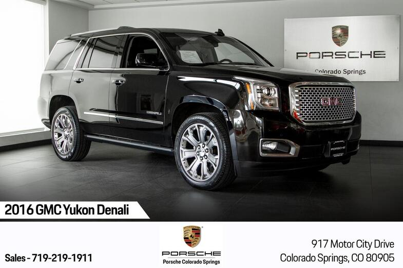 2016 GMC Yukon Denali Colorado Springs CO