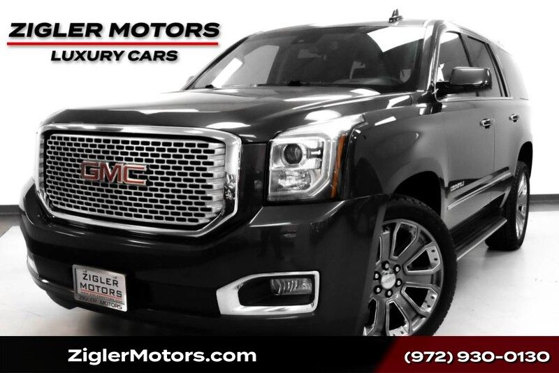 2016 GMC Yukon Denali One Owner Clean Carfax Loaded! Addison TX