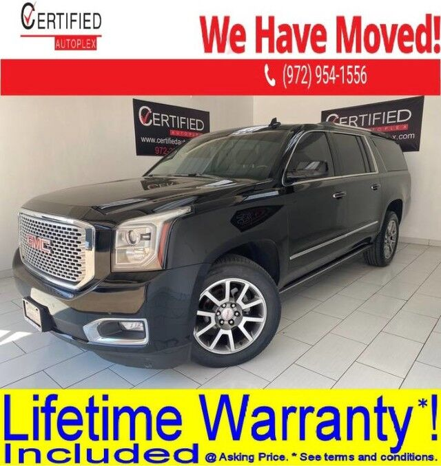 2016 GMC Yukon XL DENALI 4WD OPEN ROAD PKG BLIND SPOT ASSIST REAR ENTERTAINMENT SYSTEM Dallas TX