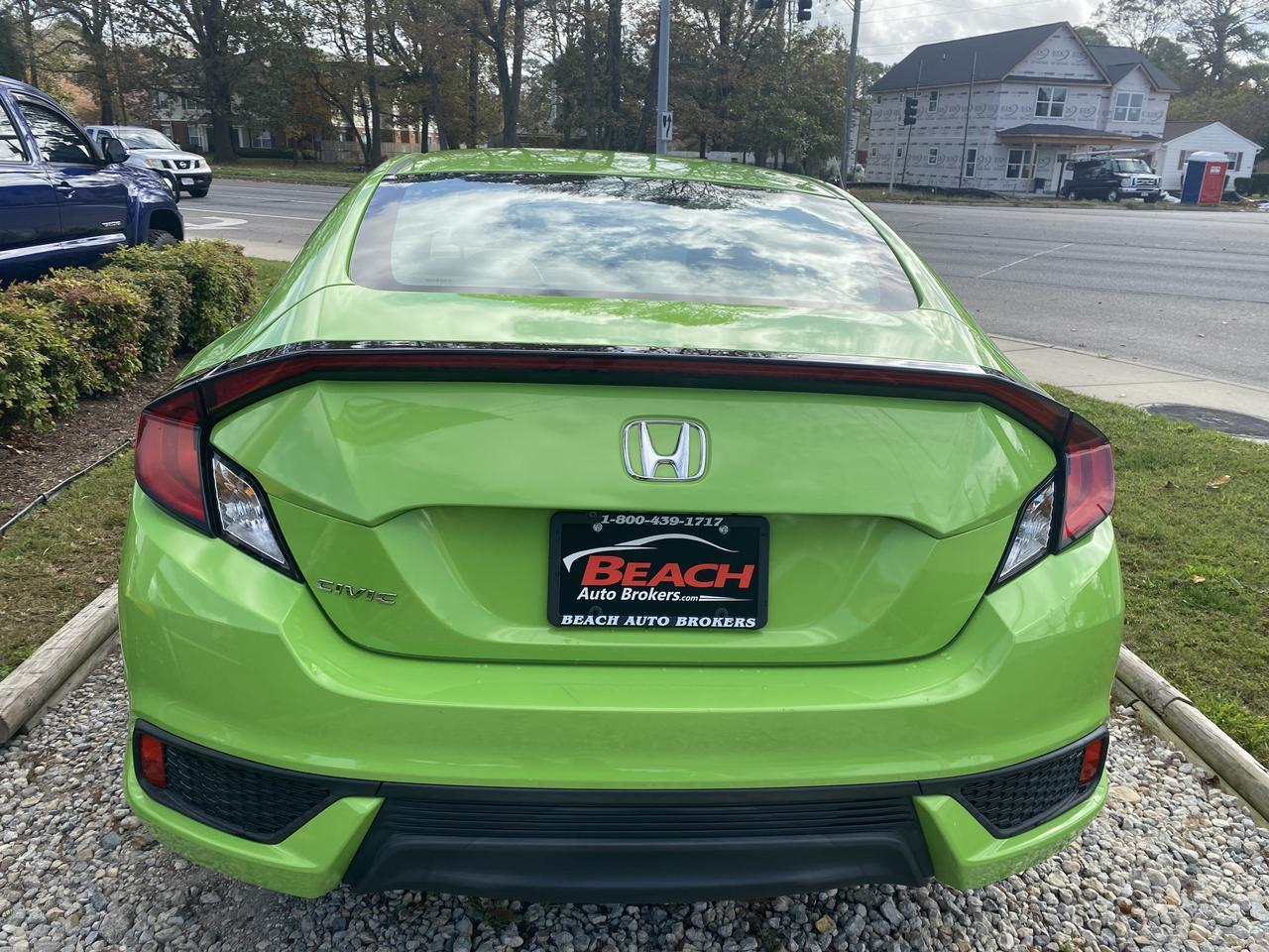 2016 HONDA CIVIC LX RARE COLOR LOOKS FANTASTIC!!!, WARRANTY, BACKUP CAM, CRUISE, A/C, KEYLESS ENTRY, CLEAN CARFAX! Norfolk VA