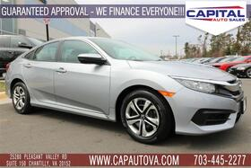 2016_HONDA_CIVIC SEDAN_LX_ Chantilly VA
