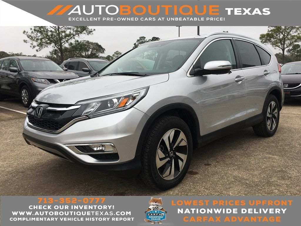 2016 HONDA CR-V TOURING TOURING Houston TX