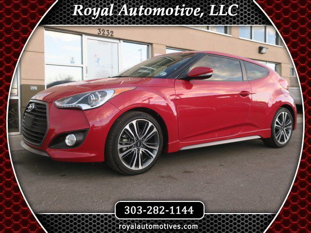 2016 HYUNDAI VELOSTER TURBO Englewood CO
