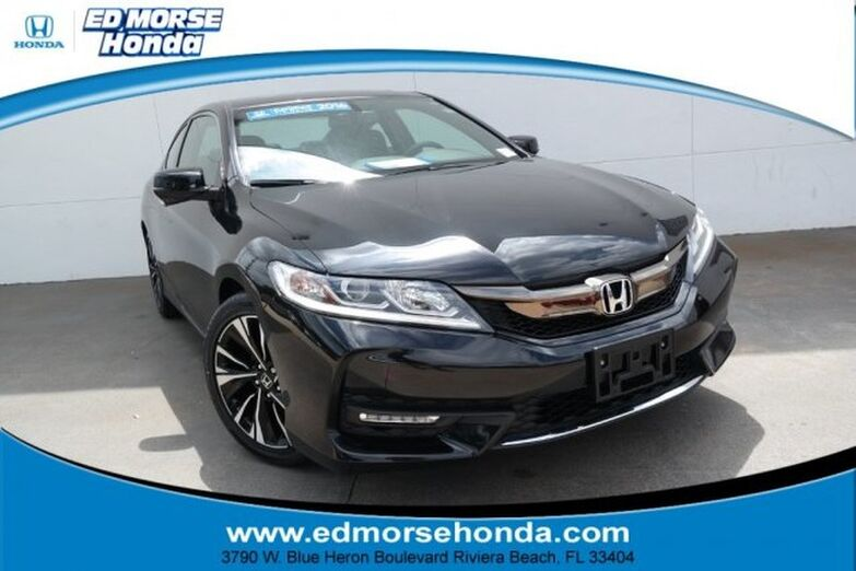 2016 Honda Accord Coupe 2dr I4 CVT EX-L Riviera Beach FL