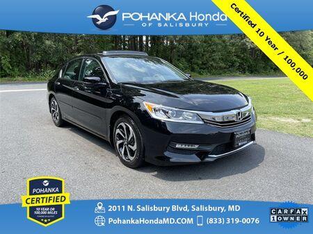 2016_Honda_Accord_EX-L ** Pohanka Certified 10 Year / 100,000 **_ Salisbury MD