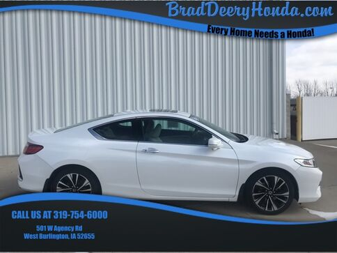 2016_Honda_Accord_EX-L_ West Burlington IA