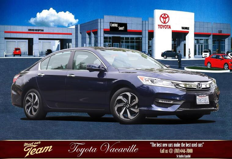2016 Honda Accord Ex-l Sedan Vacaville CA