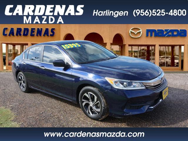 2016 Honda Accord LX Harlingen TX