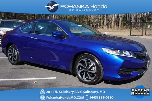 2016_Honda_Accord_LX-S **ONE OWNER** HONDA CERTIFIED 7 Year / 100,000 **_ Salisbury MD