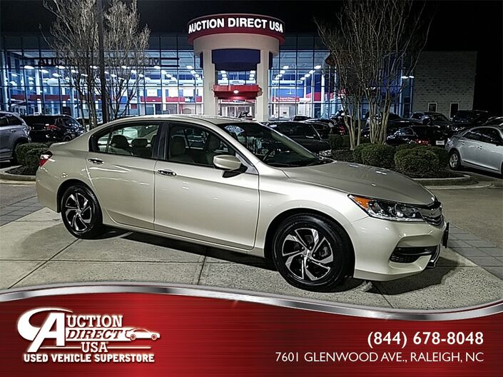 2016 Honda Accord LX Raleigh