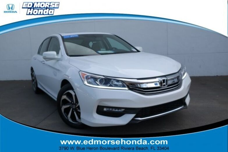 2016 Honda Accord Sedan 4dr I4 CVT EX-L Riviera Beach FL