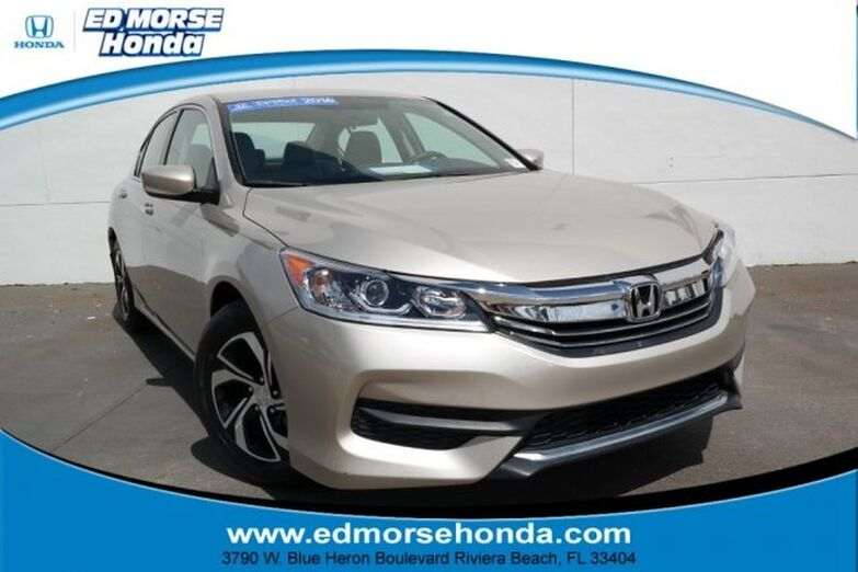 2016 Honda Accord Sedan 4dr I4 CVT LX Riviera Beach FL