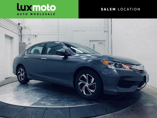 2016_Honda_Accord Sedan_LX Backup Cam Locally Owned Clean Carfax_ Portland OR