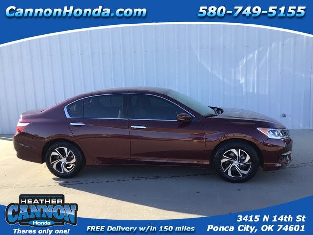 2016 Honda Accord Sedan LX Ponca City OK
