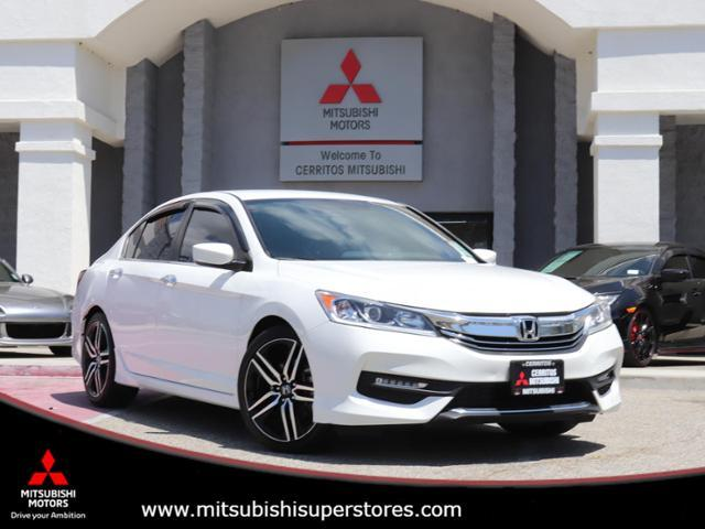2016 Honda Accord Sedan Sport Cerritos CA