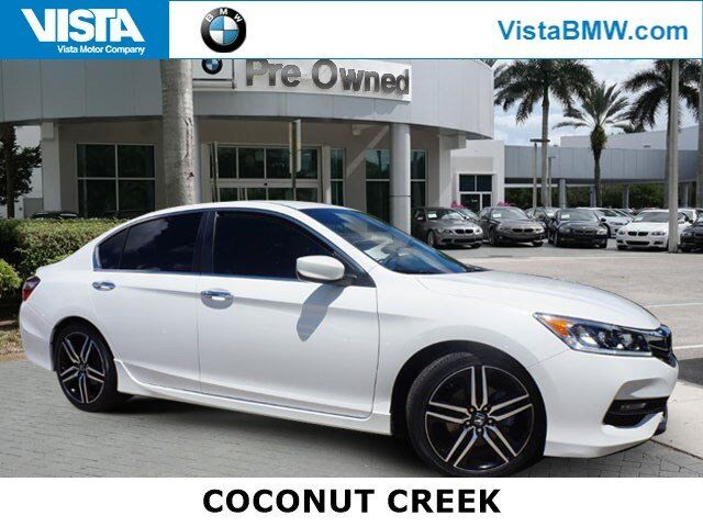 2016 Honda Accord Sedan Sport Coconut Creek FL