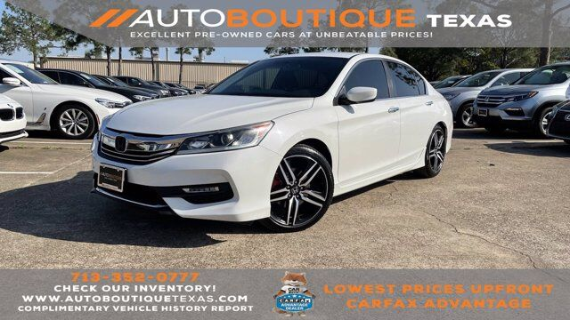 2016 Honda Accord Sedan Sport Houston TX