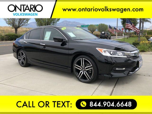 2016 Honda Accord Sedan Sport Ontario CA