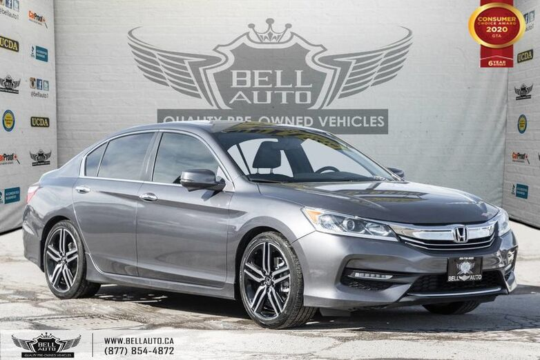 2016 Honda Accord Sedan Sport, REAR CAM, B.SPOT CAM, SUNROOF, PUSH START Toronto ON