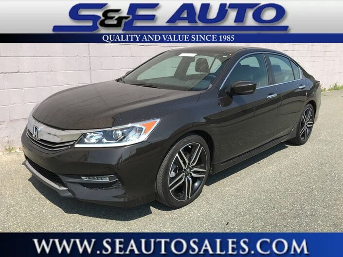 2016 Honda Accord Sedan Sport Weymouth MA