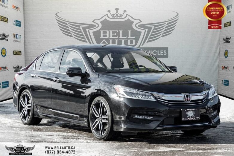 2016 Honda Accord Sedan Touring, NAVI, REAR CAM, B.SPOT CAM, LEATHER Toronto ON