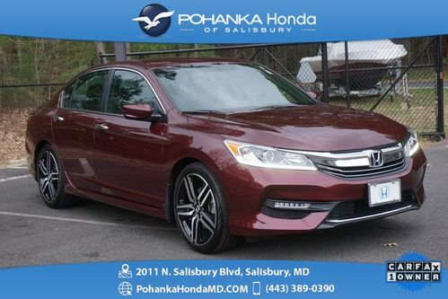 2016_Honda_Accord_Sport ** 1 Owner ** Honda Certified 7 Year / 100,000  **_ Salisbury MD