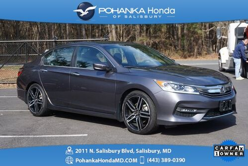 2016_Honda_Accord_Sport ** ONE OWNER ** HONDA CERTIFIED 7 Year/100,000 **_ Salisbury MD