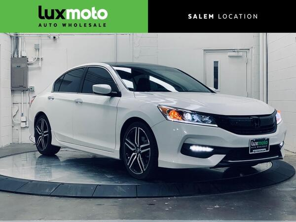 2016_Honda_Accord_Sport Locally Owned Clean Carfax_ Portland OR