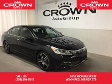 2016_Honda_Accord_Sport /SUNROOF/LANE WATCH/HEATED SEATS/BLUETOOTH/_ Winnipeg MB