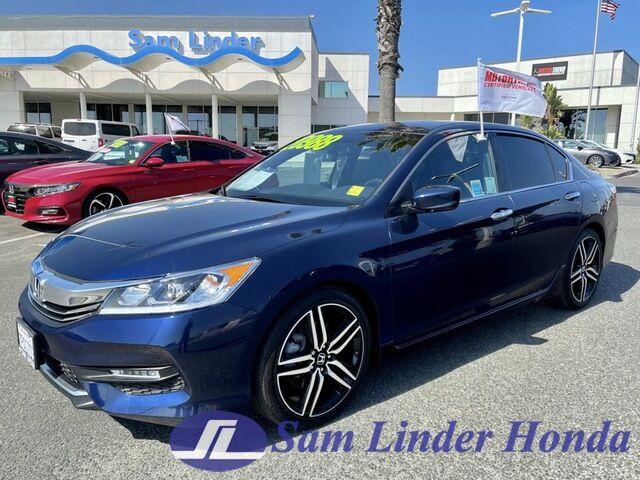 2016 Honda Accord Sport Salinas CA