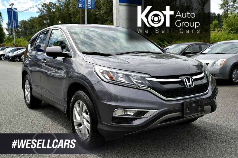2016 Honda CR-V AWD 5dr EX-L. Sunroof! All wheel drive! Backup cam! LaneWatch cam! Accident free! Kelowna BC