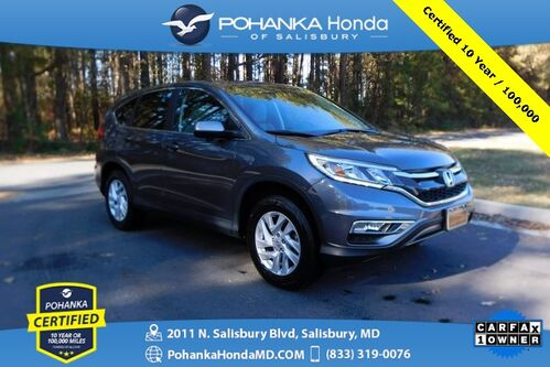 2016_Honda_CR-V_EX ** AWD ** Pohanka Certified 10 Year / 100,000  **_ Salisbury MD