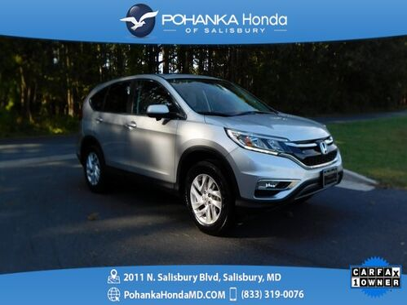 2016_Honda_CR-V_EX ** AWD ** SUNROOF & SIDE VIEW CAMERA **_ Salisbury MD