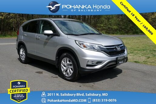 2016_Honda_CR-V_EX ** SUNROOF ** Pohanka Certified 10 Year / 100,000_ Salisbury MD