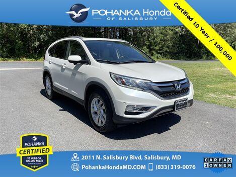 2016_Honda_CR-V_EX-L ** Pohanka Certified 10 Year / 100,000 **_ Salisbury MD