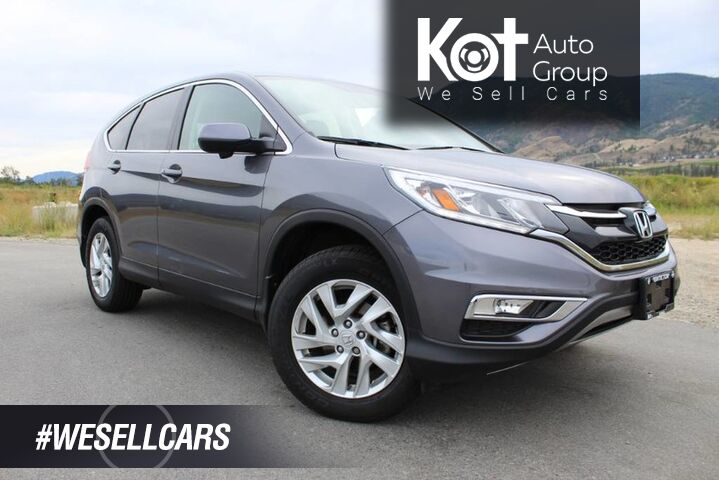 2016 Honda CR-V EX-L, Very Low Km's, No Accidents, Heated Front Seats Kelowna BC