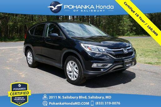 2016_Honda_CR-V_EX **Pohanka Certified 10 Year / 100,000 **_ Salisbury MD