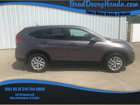 2016_Honda_CR-V_EX_ West Burlington IA