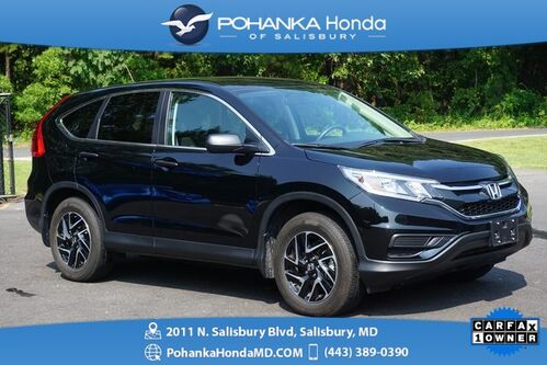 2016_Honda_CR-V_SE AWD ** 1 OWNER ** HONDA CERTIFIED 7 Year/100,000 *_ Salisbury MD