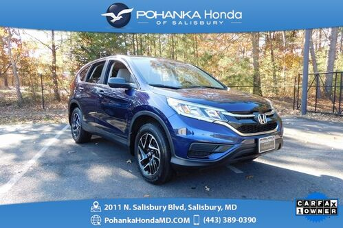 2016_Honda_CR-V_SE AWD ** GUARANTEED FINANCING ** ONE OWNER **_ Salisbury MD