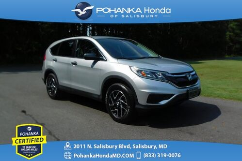 2016_Honda_CR-V_SE AWD ** Pohanka Certified 10 Year / 100,000  **_ Salisbury MD