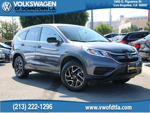2016 Honda CR V SE Los Angeles CA