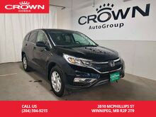 2016_Honda_CR-V_SE/ONE OWNER LEASE RETURN/LOW KMS/2-way remote start/back up cam/PUSH button start_ Winnipeg MB