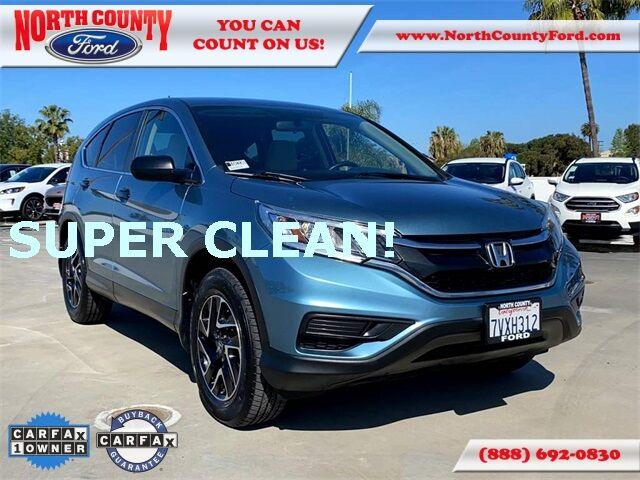 2016 Honda CR-V SE San Diego County CA